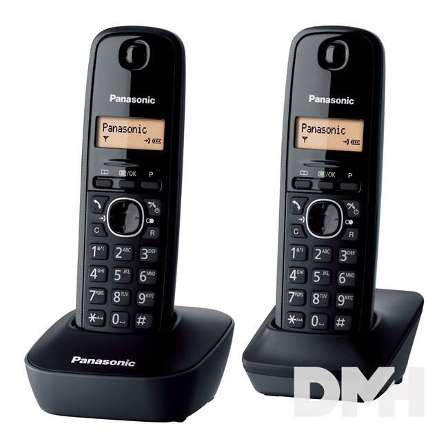 Panasonic KX-TG1612HGH DUO hívóazonosítós szürke dect telefon