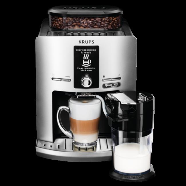Automata kávéfőző  Krups EA82FE Quatro Force