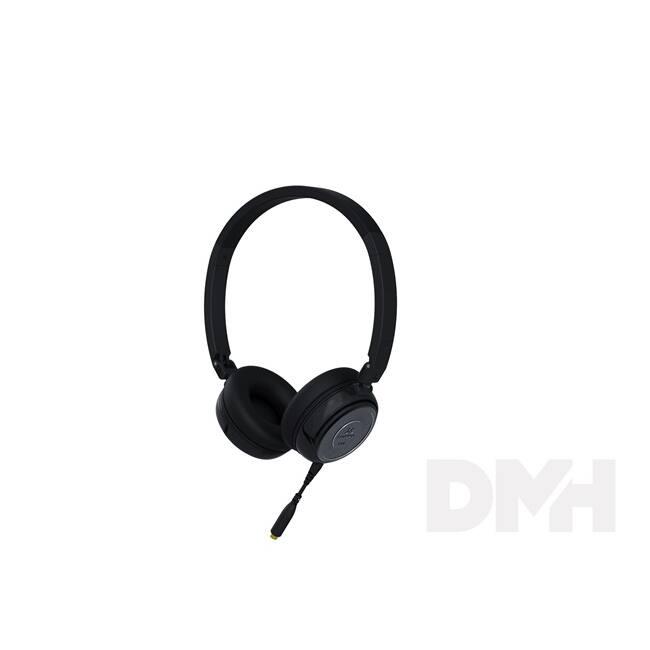 SoundMAGIC SM-P30S-01 P30S fekete headset