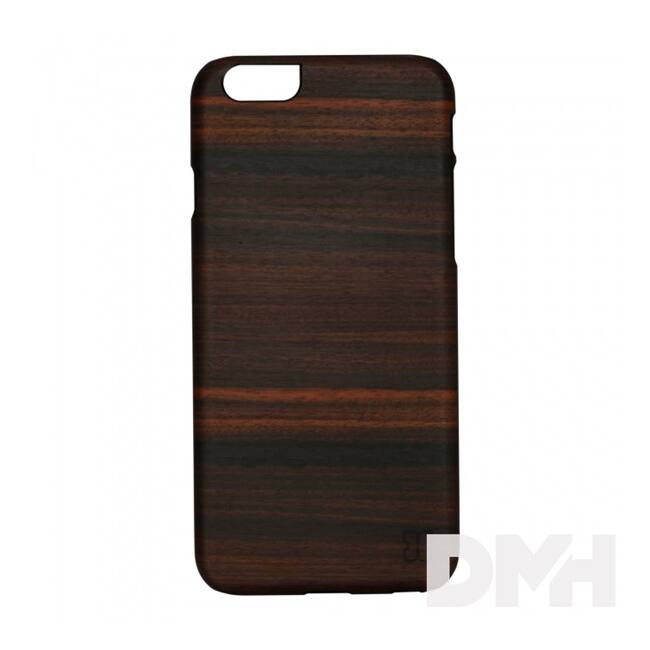 Man and Wood B7001B fehér ébenfa iPhone 7 tok Label