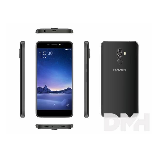 "Navon Infinity 5,3"" 3G 16GB Dual SIM fekete okostelefon"