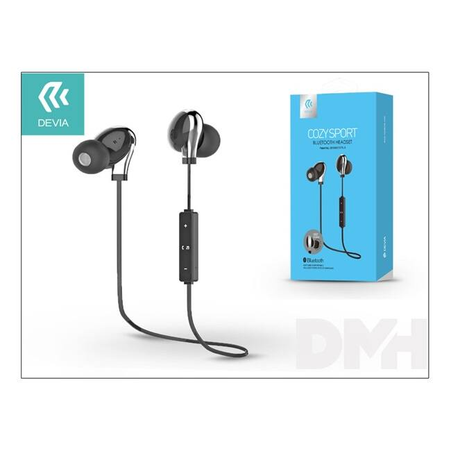 Devia ST992019 Cozy Sport Bluetooth fekete headset