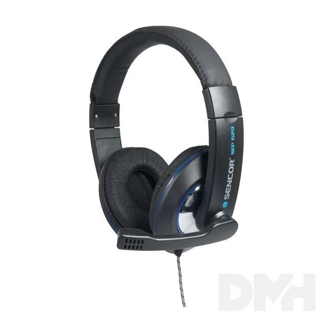 Sencor SEP 629 prémium mikrofonos fejhallgató