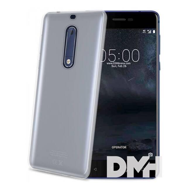 CELLY GELSKIN661 Celly Nokia 5 átlátszó szilikon hátlap