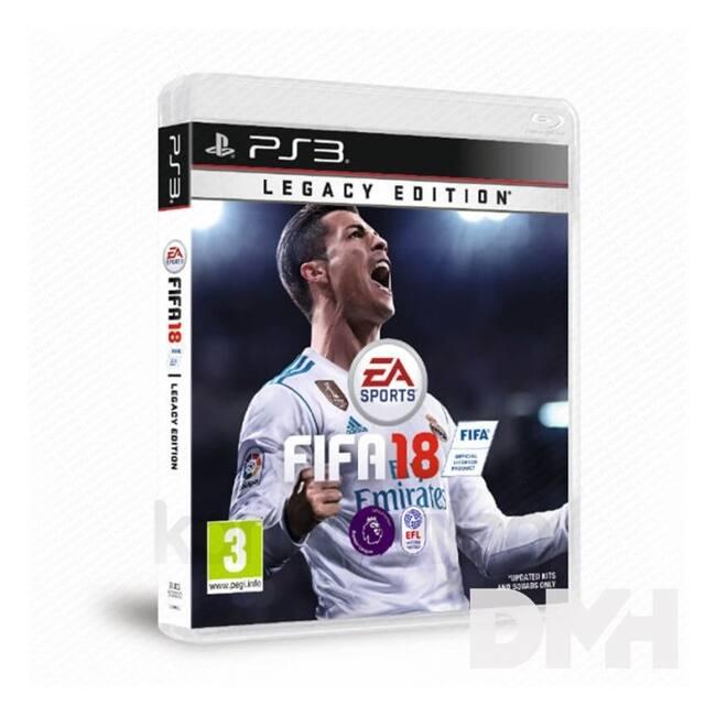 FIFA 18 PS3 játékszoftver