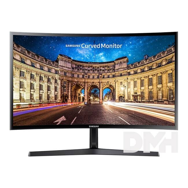 "Samsung 23,5"" C24F396FHU LED HDMI ívelt kijelzős monitor"