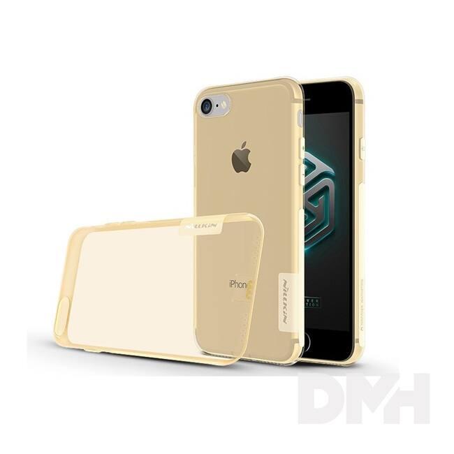 Nillkin NL127494 NATURE iPhone 7/8 barna szilikon hátlap