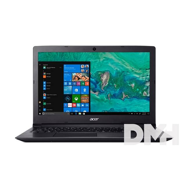 "Acer Aspire A315-33-C3TJ 15,6""/Intel Celeron N3060/4GB/500GB/Int. VGA/Win10/fekete laptop"