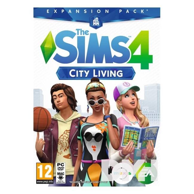 The SIMS 4 City Living PC HU játékszoftver