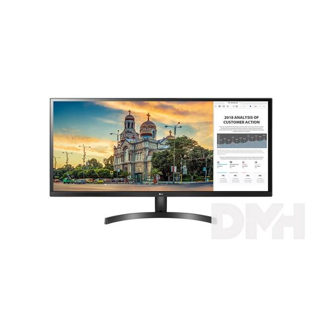 "LG 34"" 34WK500 LED IPS 21:9 Ultrawide HDMI2.0 DP monitor"