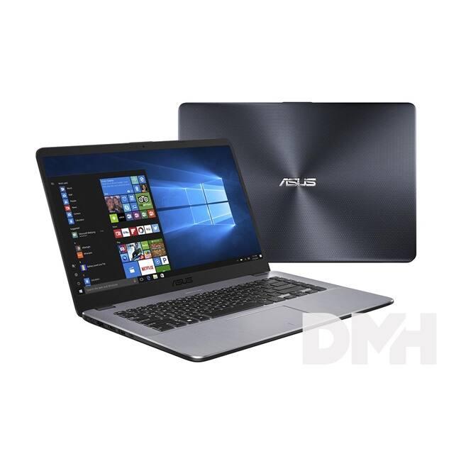 "ASUS VivoBook X505ZA-BQ186 15,6""/AMD Ryzen R7-2700U/8GB/256GB/Vega 10/szürke laptop"