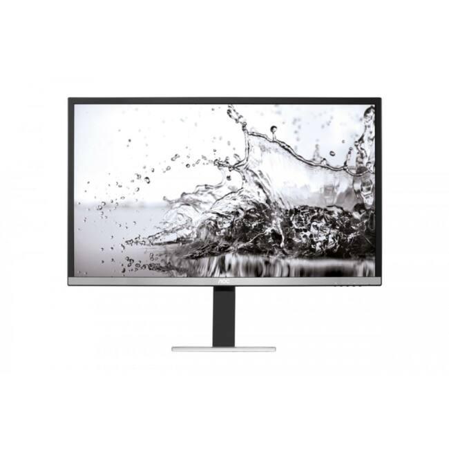 Monitor AOC Q3277PQU 32'', panel AMVA, QHD 2560x1440, D-Sub/DVI/HDMI/DP/USB 3.0