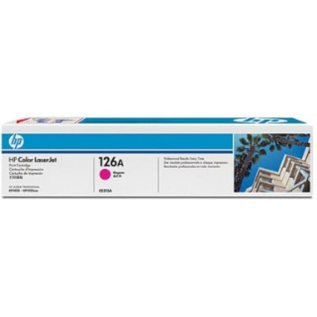 HP 126A magenta toner | 1000old | Color LaserJet Pro CP1025