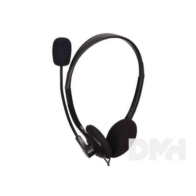 Gembird MHS-123 fekete headset