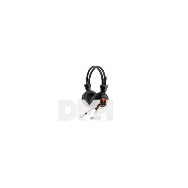 A4-Tech HS-28-3 narancs-fekete gamer headset