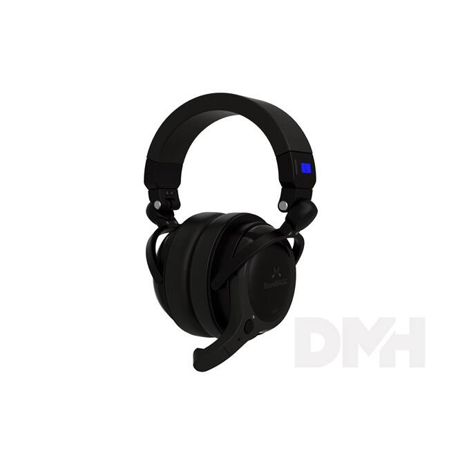 SoundMAGIC SM-BT100-01 BT100 Bluetooth fekete headset