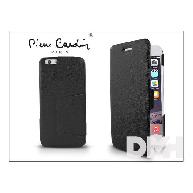 Pierre CardinFP01B-BKIP6+ DeLuxe Folio iPhone 6 fekete tok