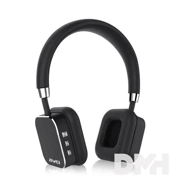 AWEI A900BL On-Ear Bluetooth fekete fejhallgató headset