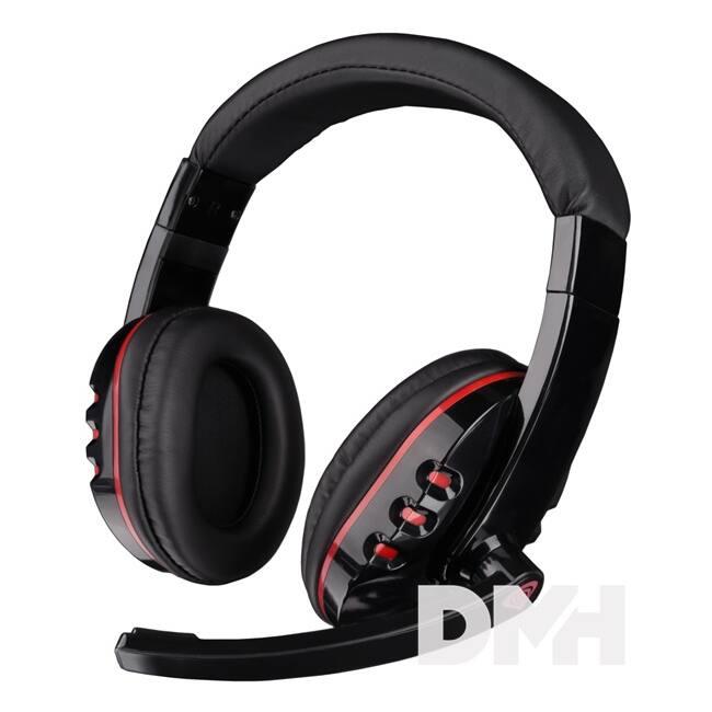 Genesis NSG-0640 H12 Gaming mikrofonos fejhallgató