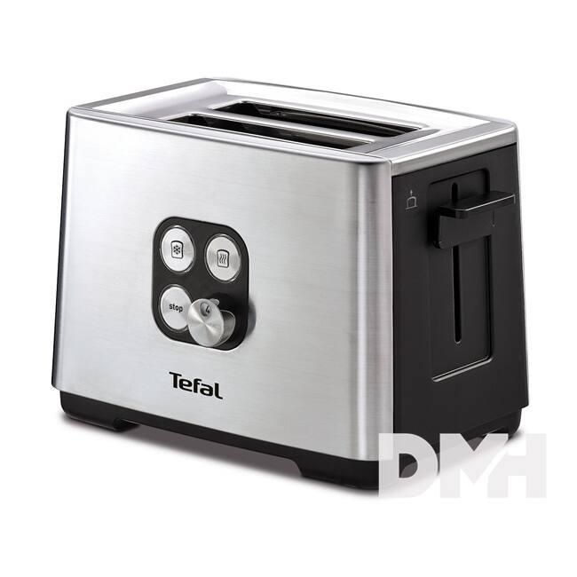 Tefal TT420D30 Inox Cube kenyérpirító