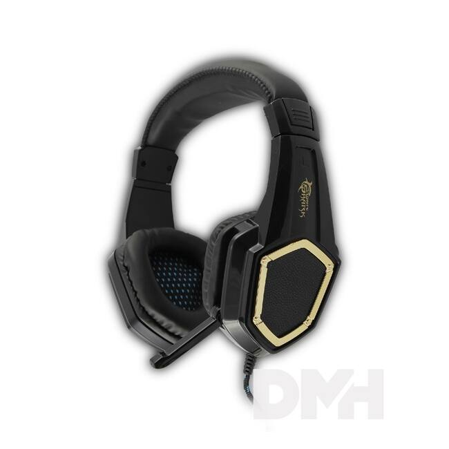 White Shark GHS-1642 CHEETAH fekete Gaming headset