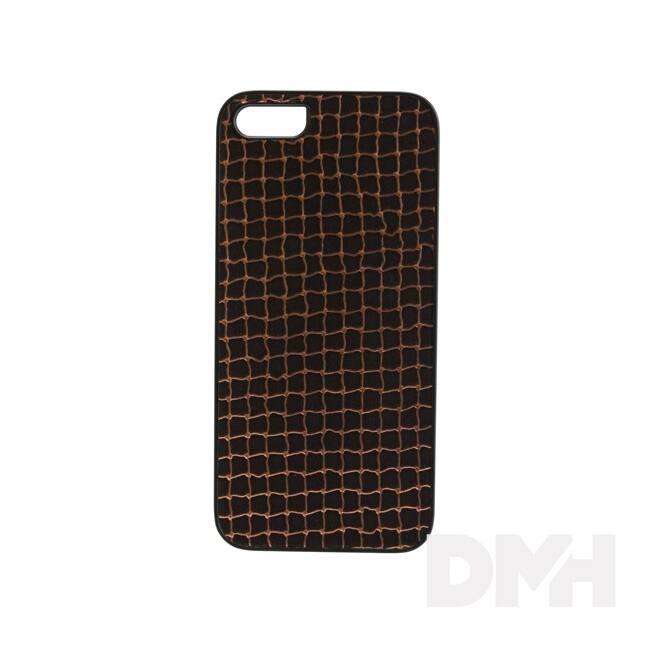 iKin K1112J iPhone 5/SE bronz háló mintás tok
