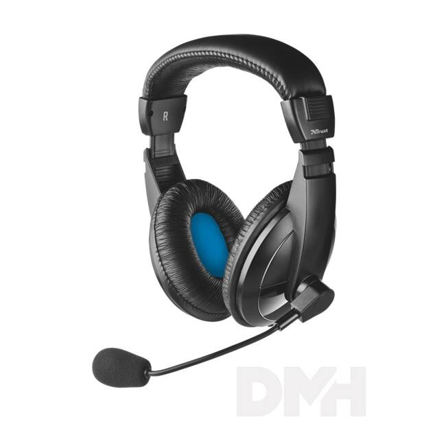 Trust Quasar jack headset (új)