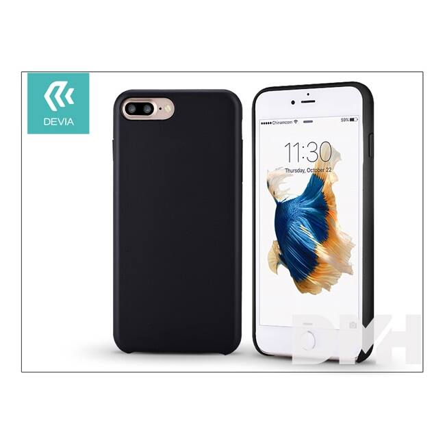 Devia ST994341 CEO 2 iPhone 7+ fekete hátlap