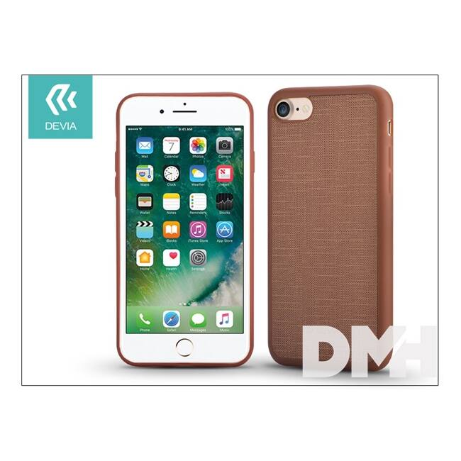 Devia ST992989 JELLY SLIM iPhone 7 barna hátlap