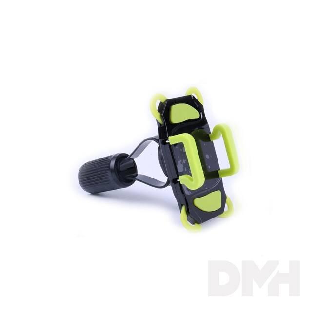 """Max Mobile 4,3""""-6"""" zöld univerzális kerékpáros mobiltartó"""