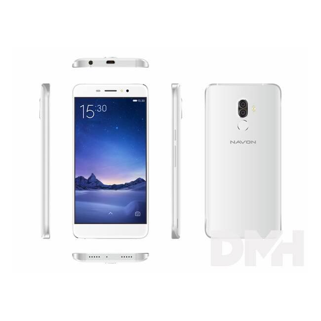 "Navon Infinity 5,3"" 3G 16GB Dual SIM fehér okostelefon"