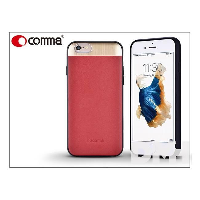 Comma ST981846 Vivid bőr iPhone 6/6S piros hátlap