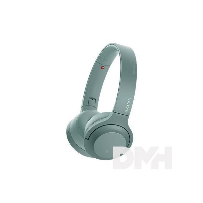 Sony WHH800 Hi-Res Bluetooth zöld fejhallgató headset aptX