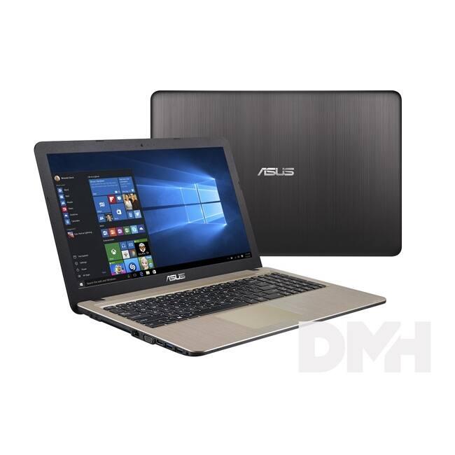 """ASUS X540LA-XX992 15,6""""/Intel Core i3-5005U/4GB/128GB/Int. VGA/fekete laptop"""
