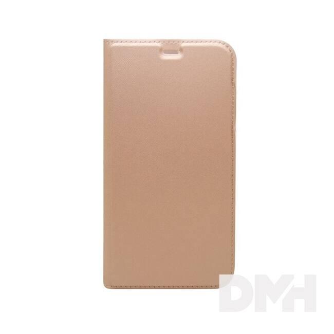 Cellect BOOKTYPE-IPH8-RGD iPhone 8 rózsaarany oldalra nyíló flip tok