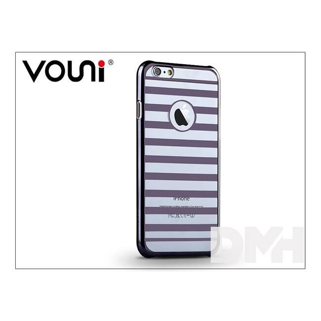 Vouni ST962319 PARALLEL iPhone 6/6S fegyver fekete hátlap