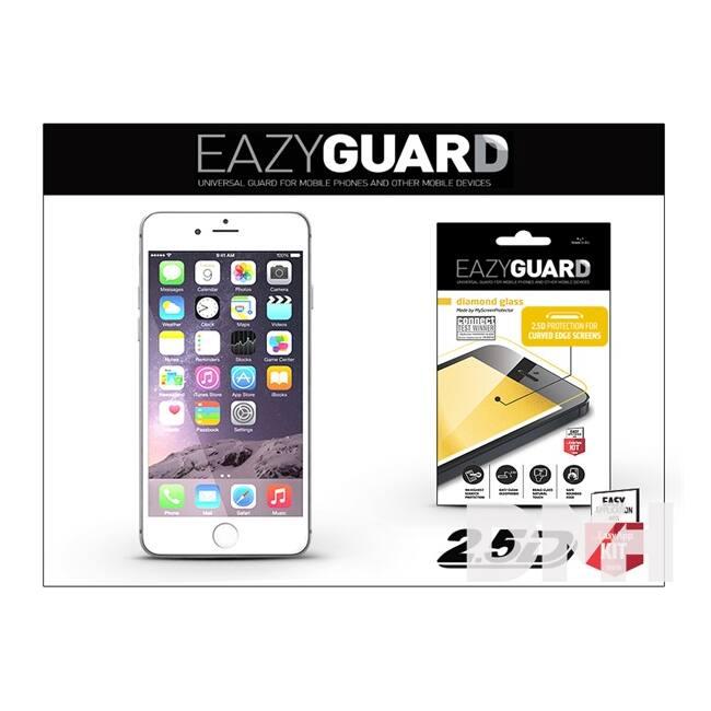EazyGuard LA-1279 iPhone 6+/6S+ fehér 2.5D üveg kijelzővédő fólia