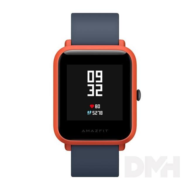 Xiaomi Amazfit Bip vörös fitness okosóra