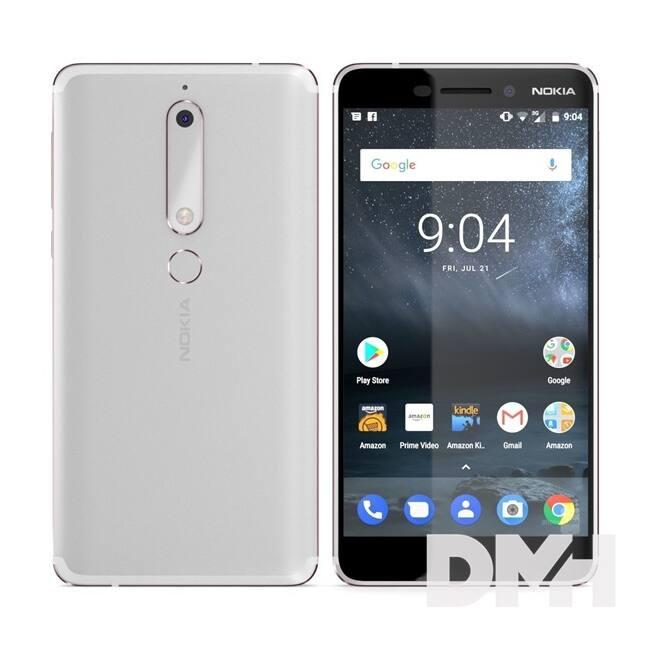 "Nokia 6.1 5,5"" LTE 32GB Dual SIM fehér okostelefon"