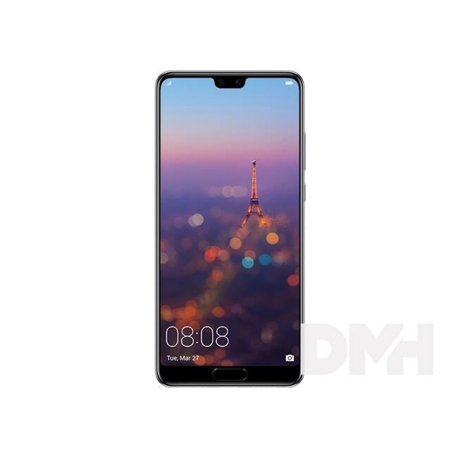 "Huawei P20 5,8"" LTE 64GB Dual SIM holdfény kék okostelefon"
