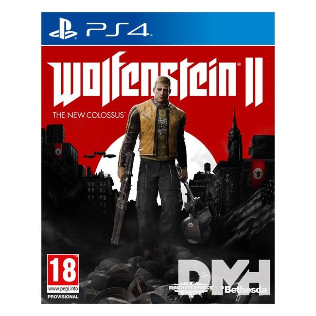 Wolfenstein II The New Colossus PS4 játékszoftver
