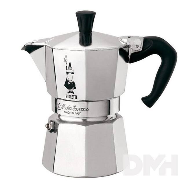 Bialetti Moka Express 6 személyes inox kotyogós kávéfőző