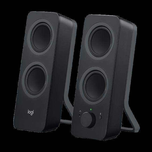 Z207 Bluetooth(R) Computer Speakers-BLACK-BT-EMEA