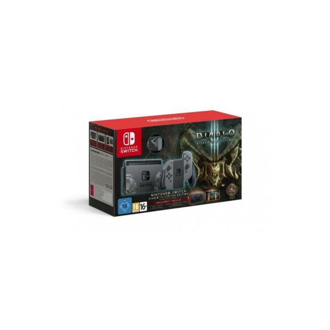 Nintendo Switch Console + Diablo Eternal Collection - Limited Edition
