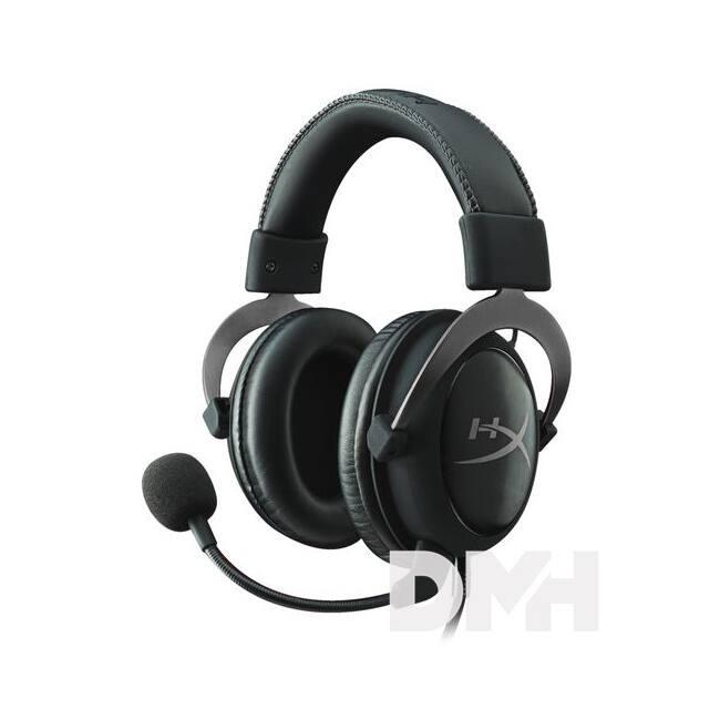 Kingston HyperX Cloud II Gun Metal 3,5 Jack, USB gamer headset