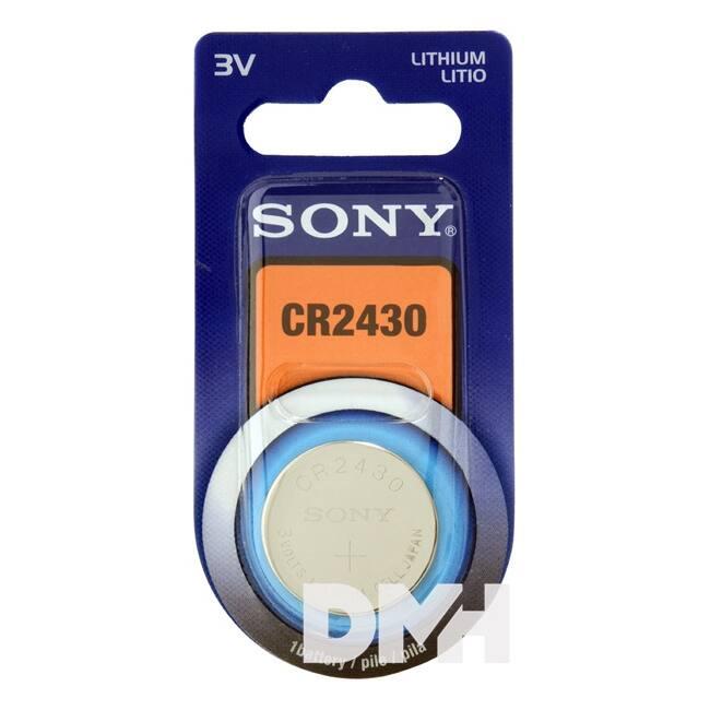 Sony CR2430 lítium gombelem 1db/bliszter