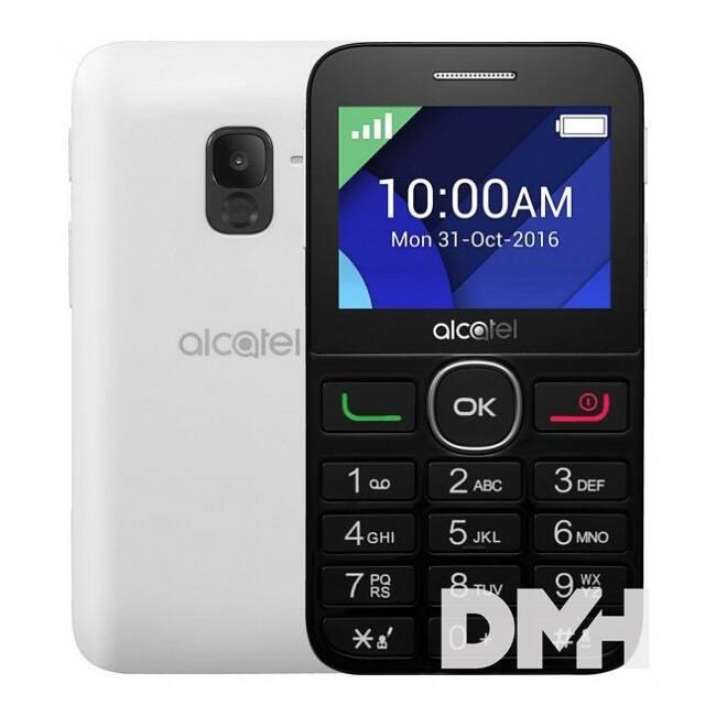 """Alcatel 2008G 2,4"""" fekete-fehér mobiltelefon"""