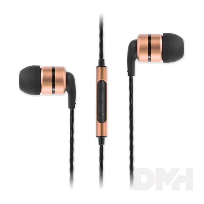 SoundMAGIC E80C In-Ear arany fülhallgató headset