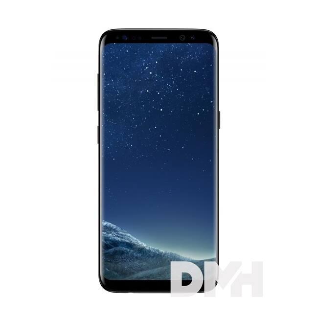"Samsung Galaxy S8 SM-G950F 5,8"" LTE 64GB éjfekete okostelefon"