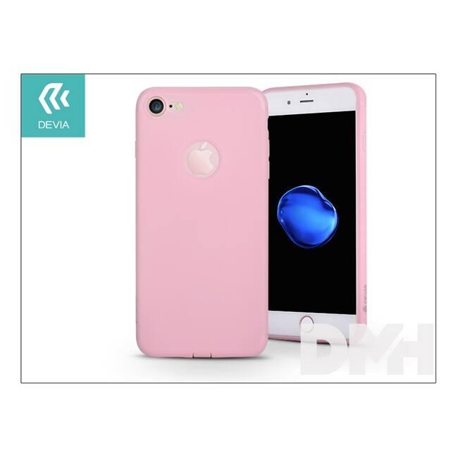 Devia ST995836 EGG SHELL iPhone 7 rózsaszín hátlap